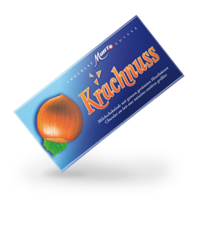 Munz Krachnuss milk tablet 100g