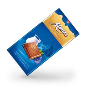 Munz Swiss Premium milk tablet 100g